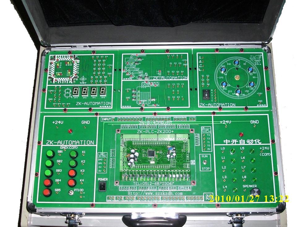 可组网多个plc或其它设备   ○ 输入,输出,运行状态都有指示灯显示
